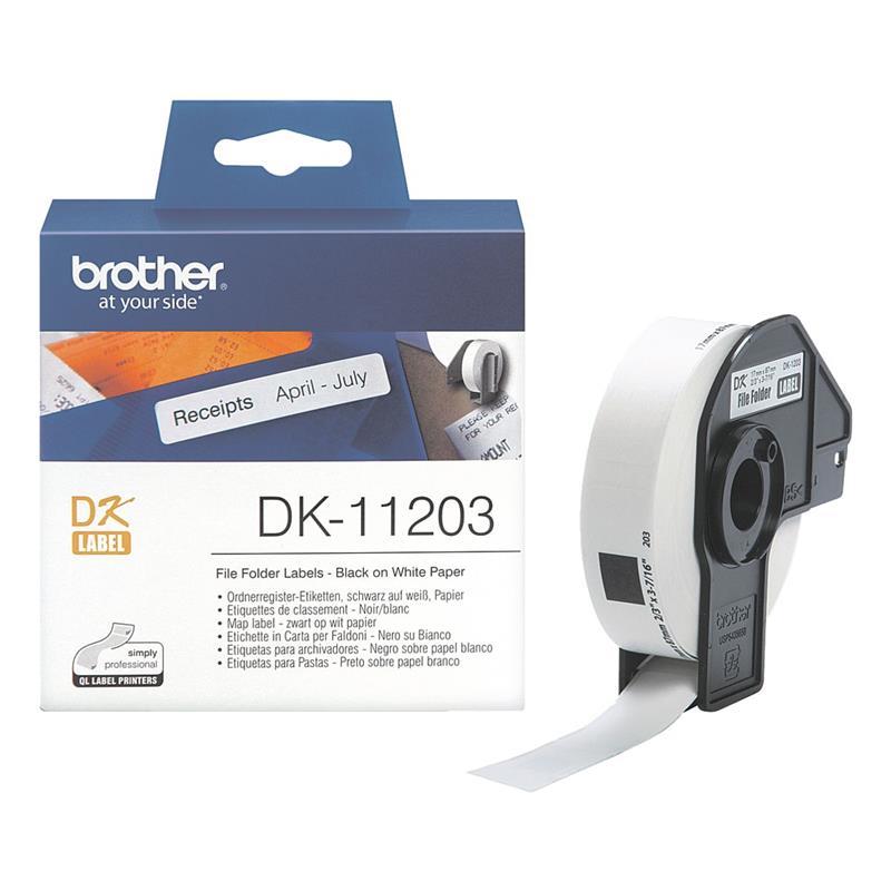 Brother P-touch DK-11203 Einzel-Etiketten DK11203