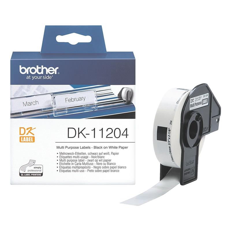 Brother P-touch DK-11204 Einzel-Etiketten DK11204
