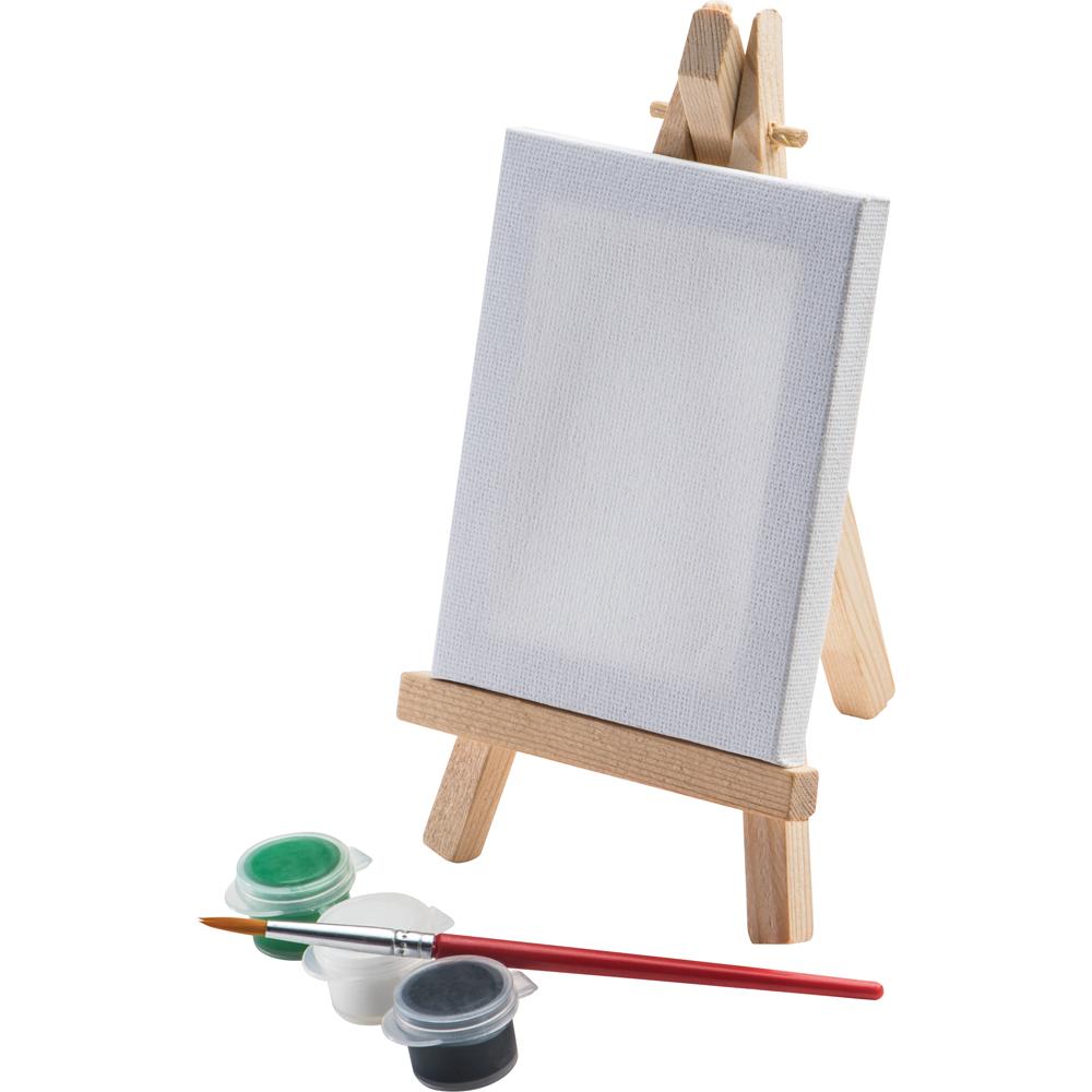 Mini Staffelei Mit Leinwand Farben Und Pinsel Malen Basteln Kinder
