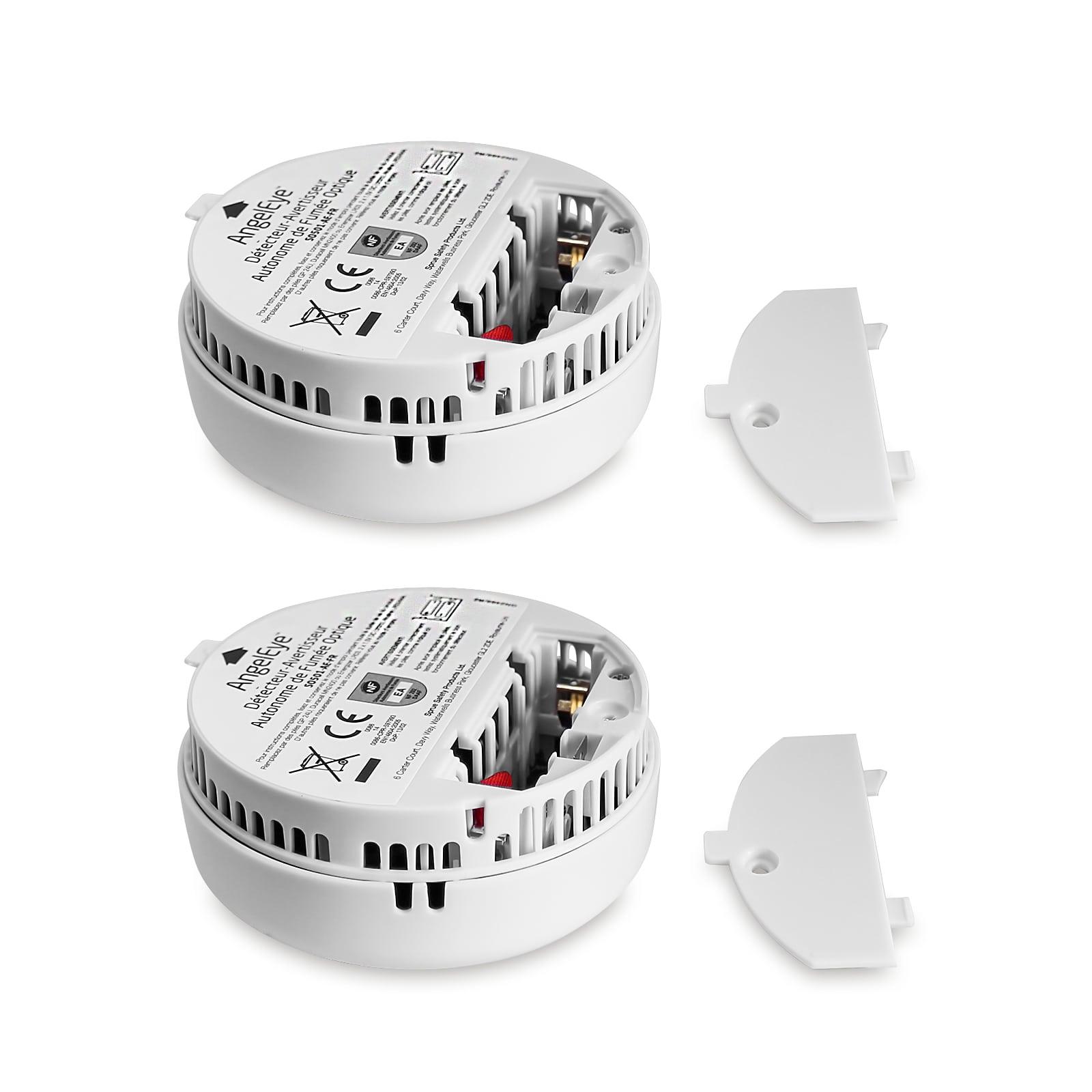10x Rauchmelder 9V Batterie Rauchwarnmelder
