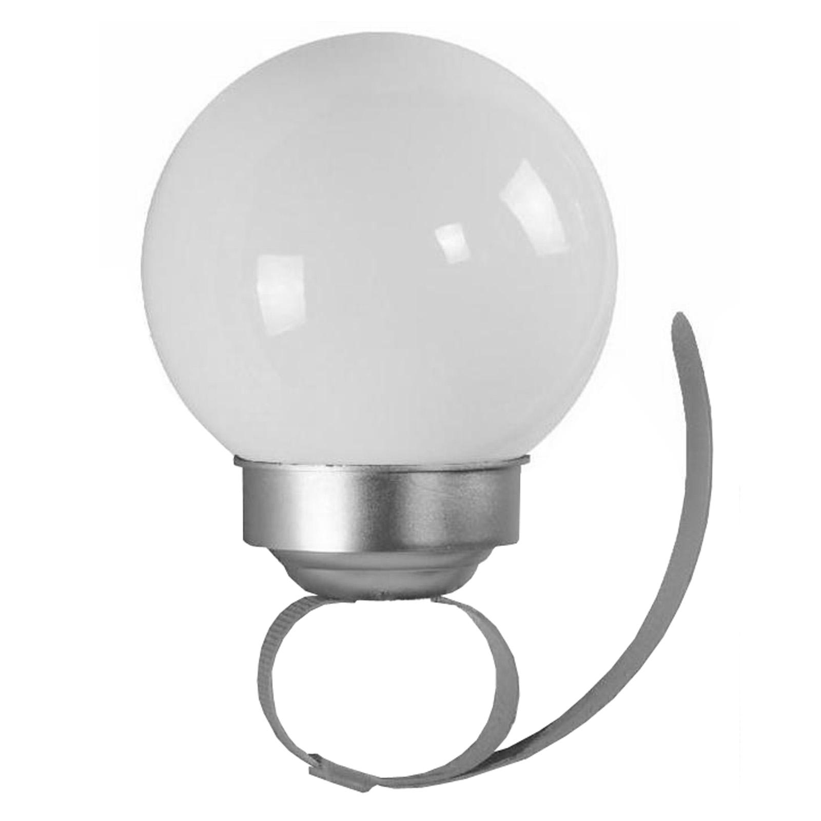 LED Solarleuchte Balkon Solarlampe Kugel Geländer Solar Lampe Balkongeländer