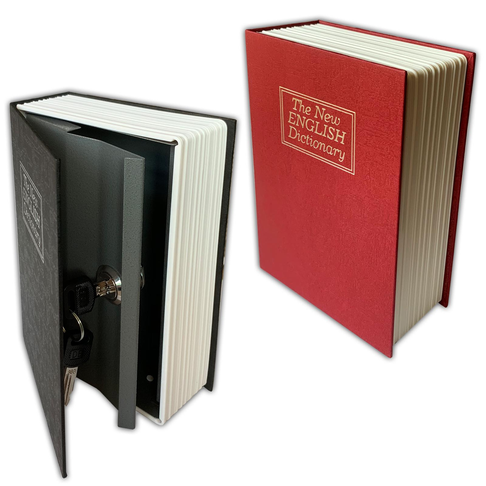 Bücher Tresor Buchattrappe Attrappe Buch Safe Geldkassette Geheimversteck