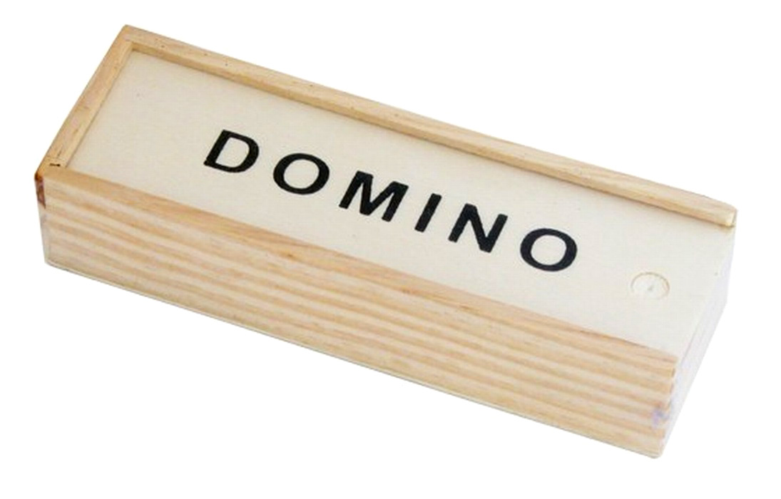 "Domino ""Classic"" in Holzkiste 
