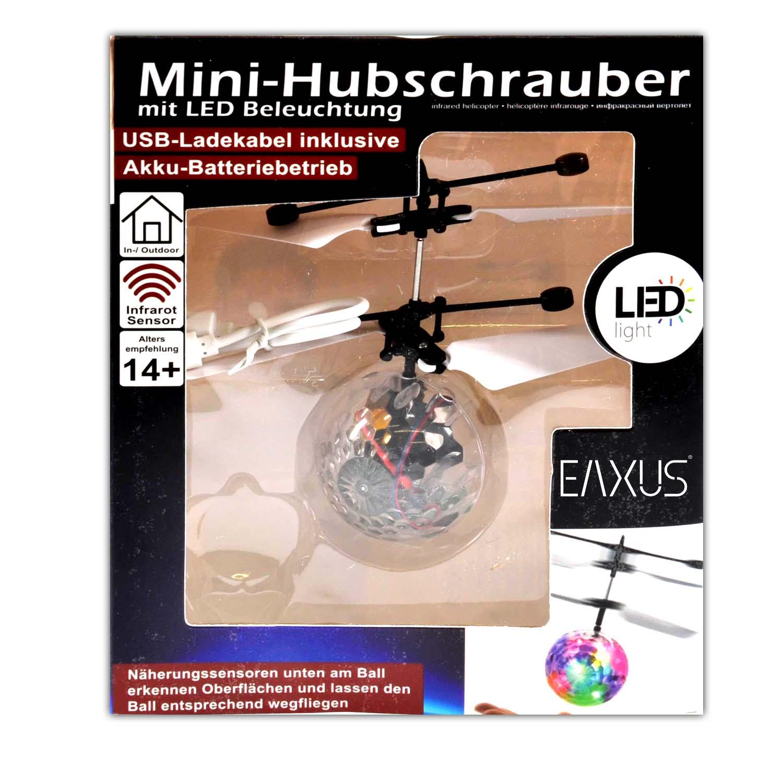 Infrarot LED Fliegender Heli Ball Sensor Hubschrauber Kugel Spielzeug Kinder