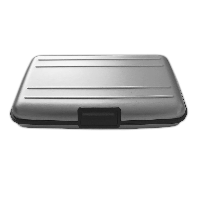 4x Aluminium Kartenetui Alu EC Bank Karten Etui Kreditkartenetui RFID Blocker