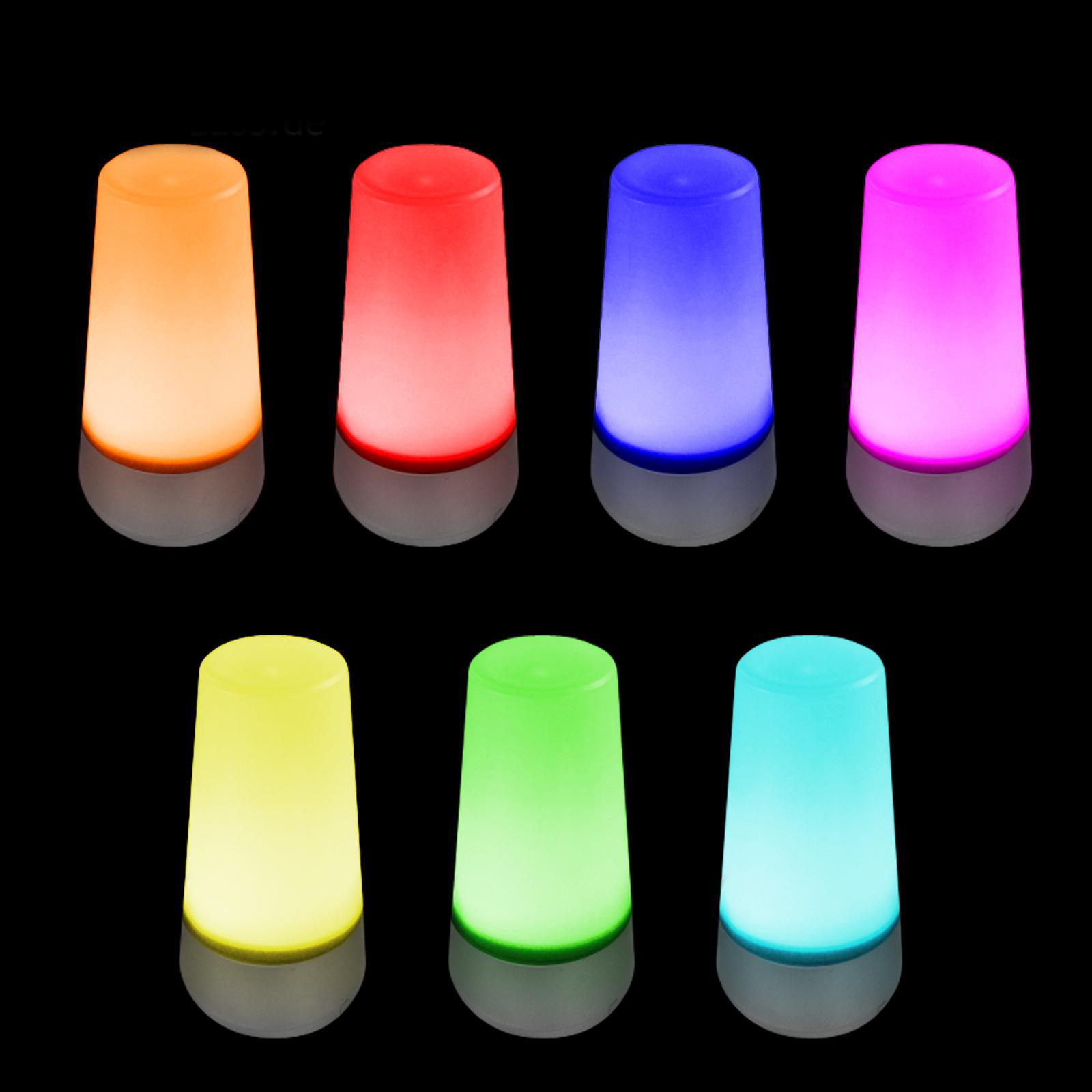EAXUS LED Lampe / Stimmungslicht Mit Farbwechsel , 7 Farben | LED_Lampe