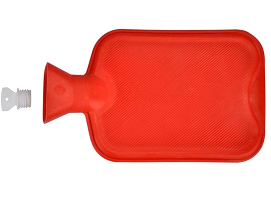 Almohada de Cuello Bolsa de Agua Caliente Color Rojo