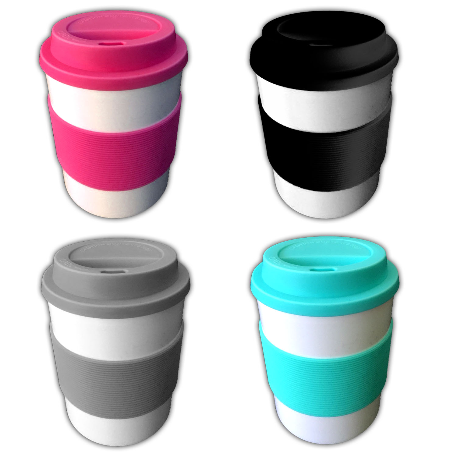 4er set coffee to go becher 350ml kaffeebecher kaffee tee trinkbecher teebecher ebay. Black Bedroom Furniture Sets. Home Design Ideas