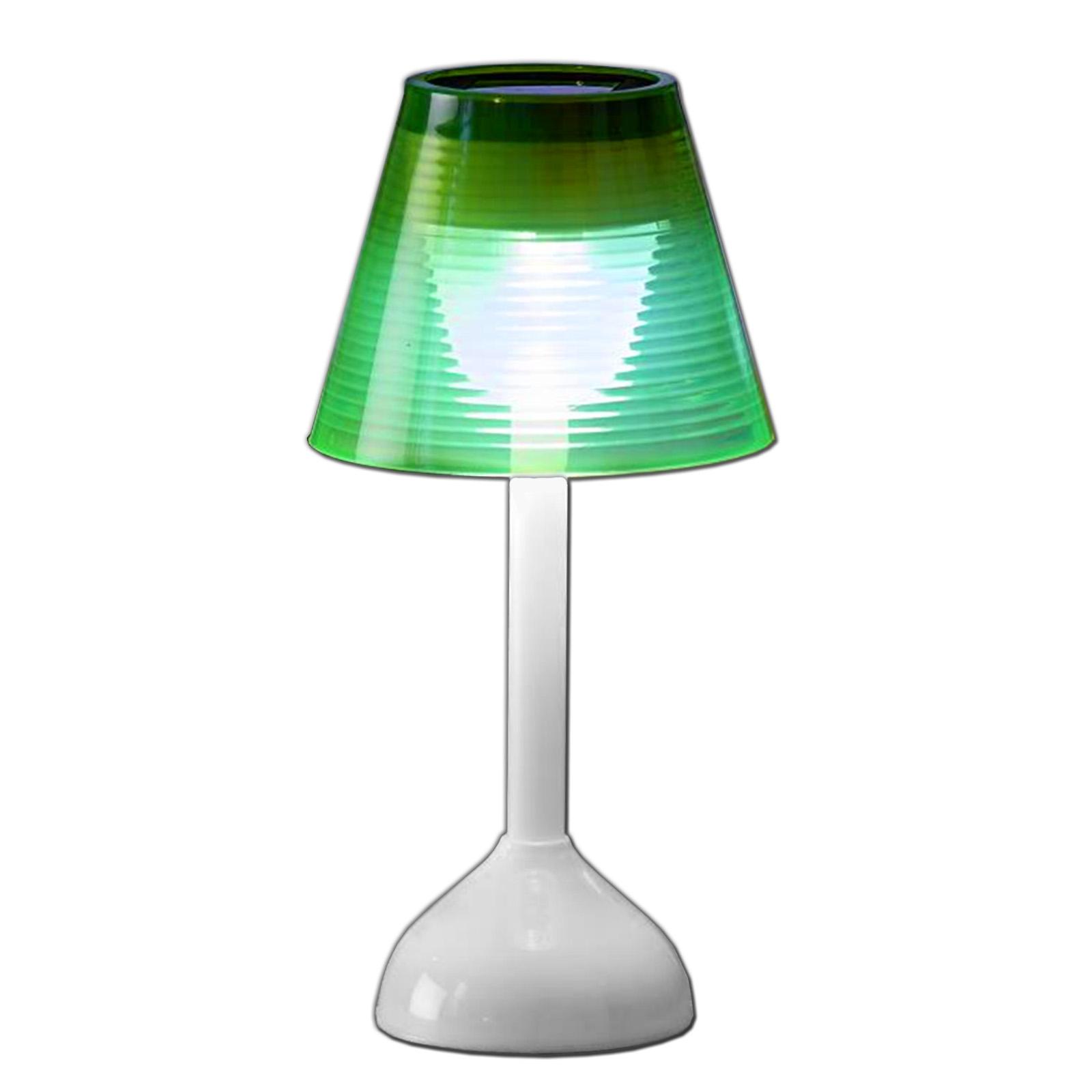 Led Solare Lampada Da Tavolo Plastica Lampada Solare Luce Ebay