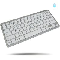 WINTECH kabellose Mini Bluetooth Tastatur MKB-27 | flaches Design | MKB