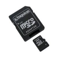 Kingston 2in1 MicroSD + SDHC Karte mit 4GB Class 4 | SD