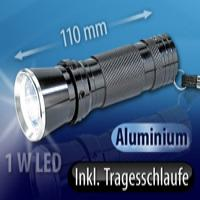 Power-LED-Taschenlampe mit 1 Watt Premium-LED | TL3