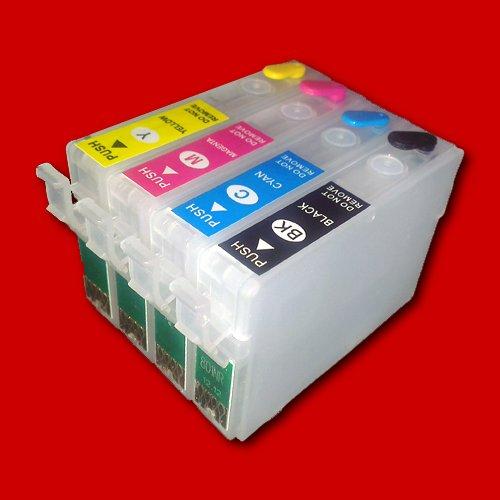 Befüllbare Fill In Patronen für T1811 T1812 T1813 T1814 mit Auto-Reset-Chip