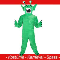 Monster Kostüm Grün - Polly Gr. M - L - (XL)