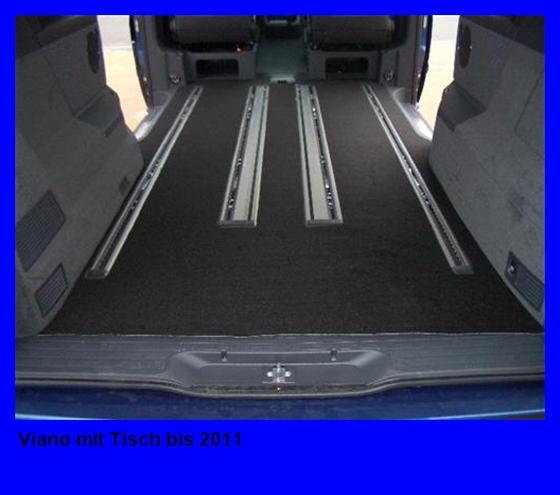 Gastraumteppich Mercedes Viano Trend Ambiente lang bis 2011