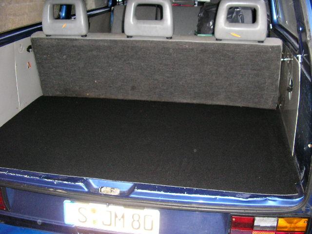Premium Set Gummimatten Kofferraumwanne für VW Scirocco 3 III 137 138 ab 2007