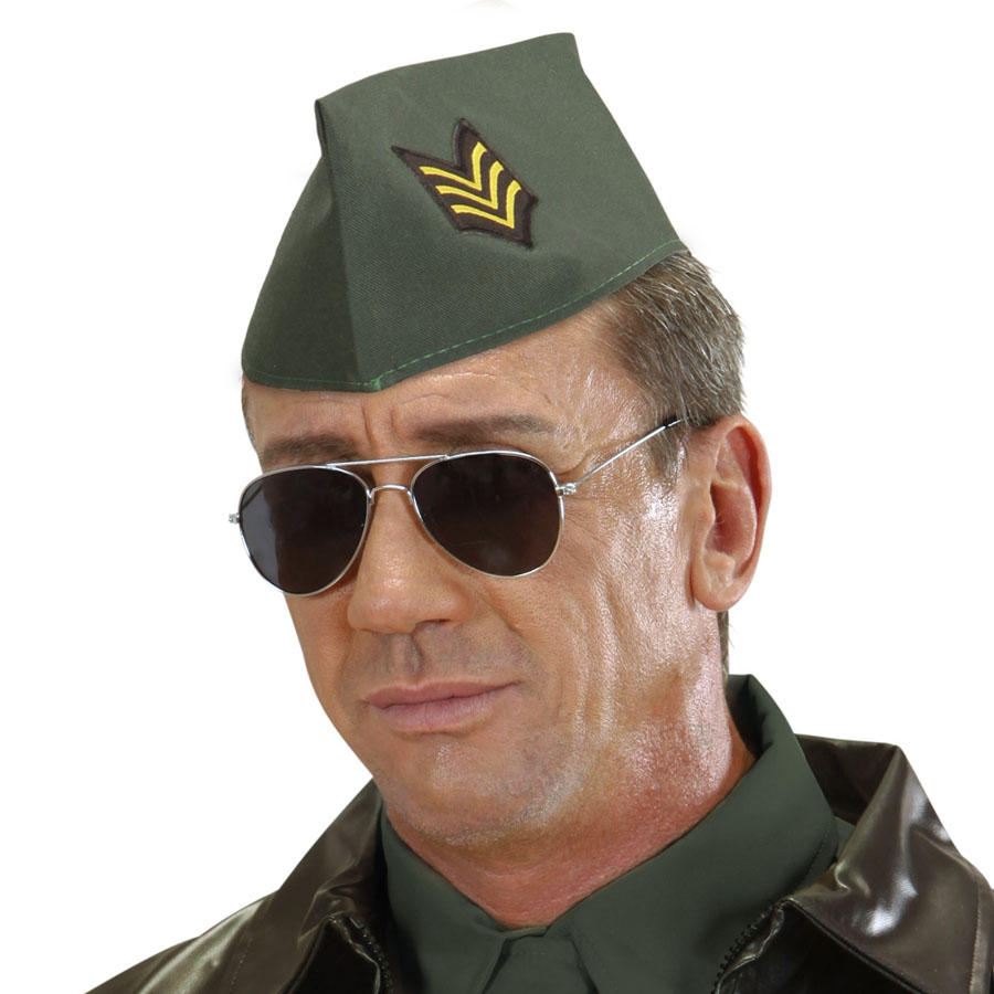 MILITÄR SCHIFFCHEN Karneval Soldat Armee Hut Mütze Kappe Cap Kostüm ...