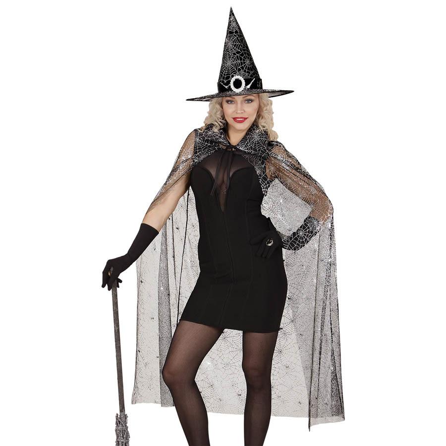 Hexenhut mit Spinne Halloween Hexen Hut Hexe  Halloweenhut Spinnenhut Kostüm