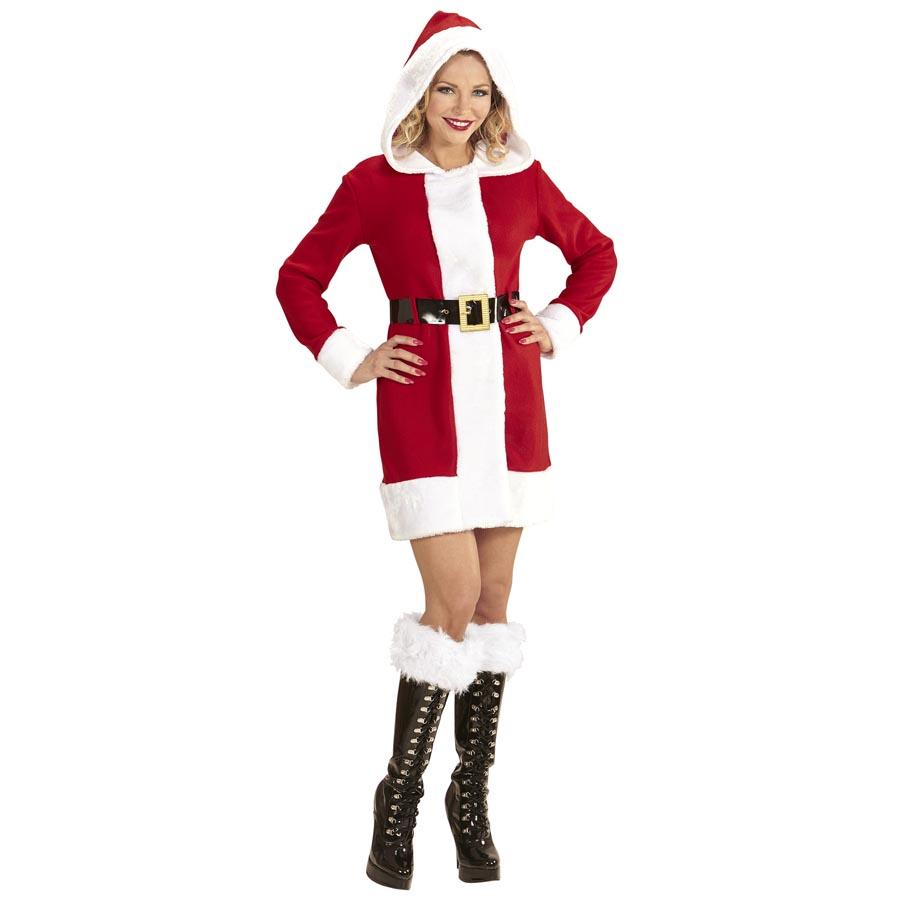 weihnachtsmann frau kost m damen nikolaus weihnachtsfrau. Black Bedroom Furniture Sets. Home Design Ideas