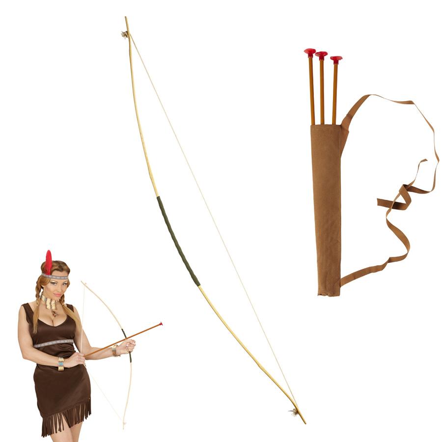 PFEIL UND BOGEN # Karneval Mittelalter Indianer Räuber Kinder Kostüm ...