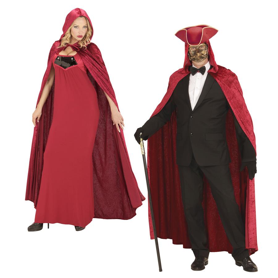 VENEZIANISCHER SAMT UMHANG Karneval Venedig Barock Rokoko Kostüm ...