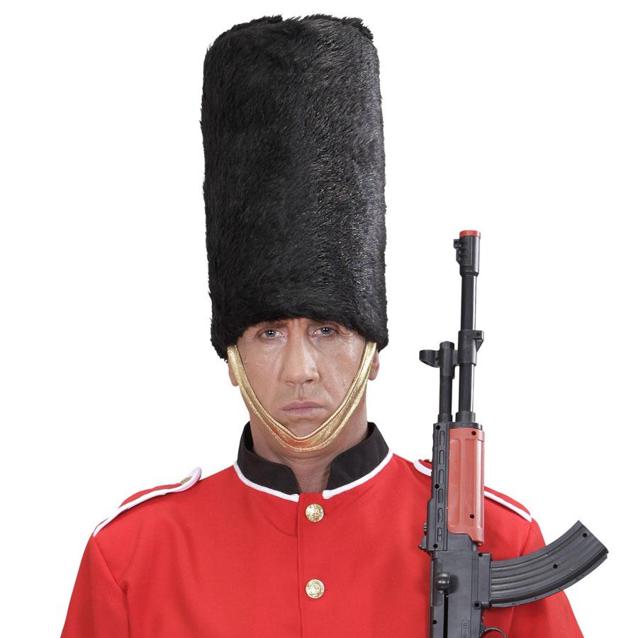 KÖNIGLICHE GARDE HUT Karneval England London Wache Mütze Kostüm ...