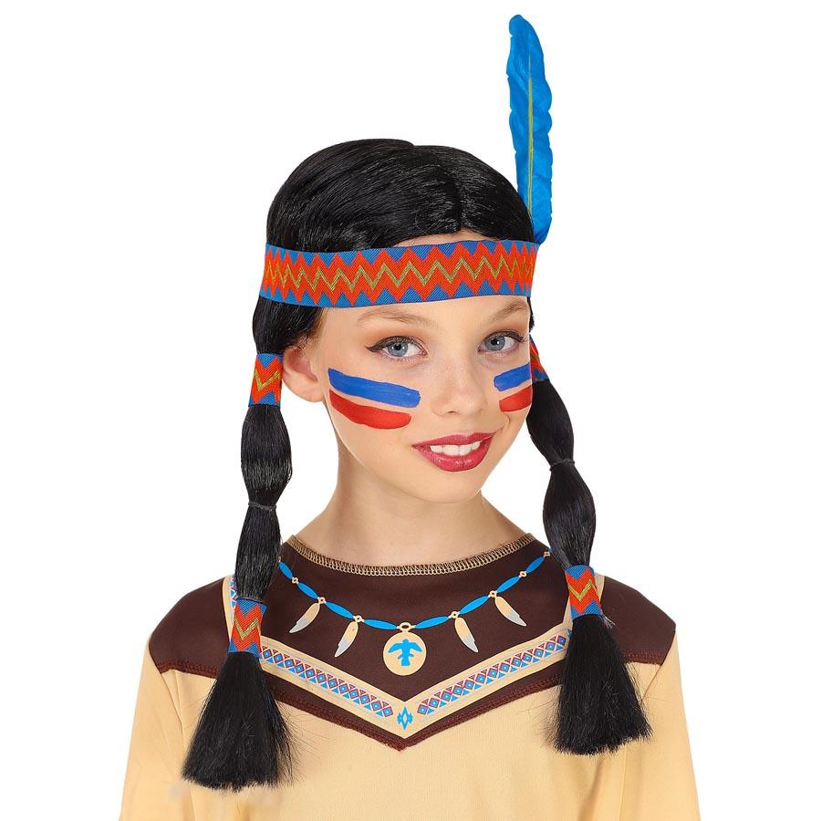 Häuptling Federhaube Indianer Kopfschmuck Federkopfschmuck Apachen Rothaut Squaw