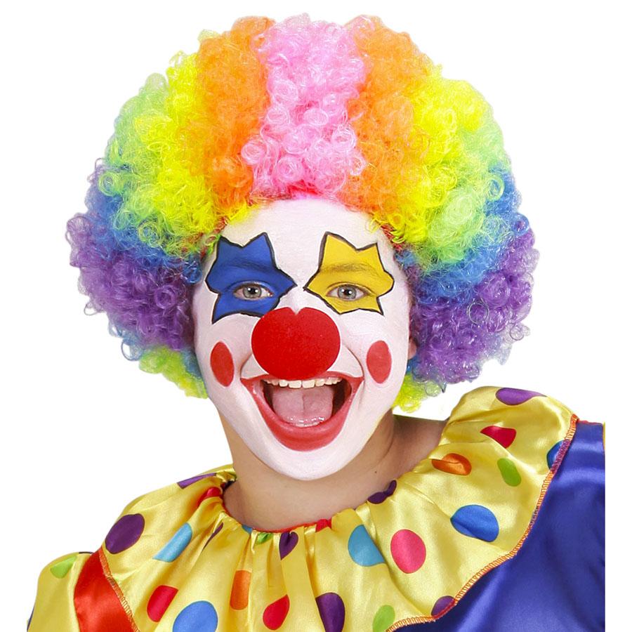 Kinder clown per cke karneval fasching theater harlekin gag kost m party 74590 ebay - Clown schminken bilder ...