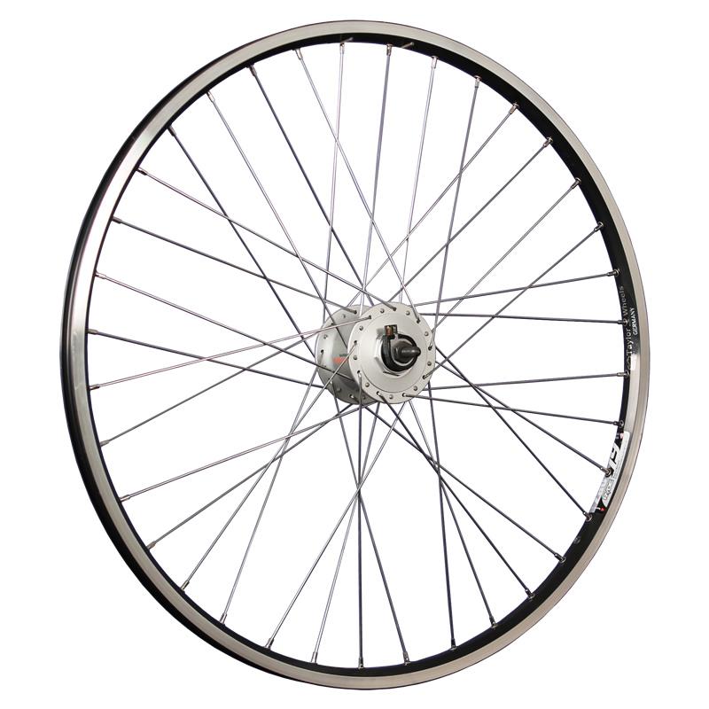 taylor wheels 26inch bike front wheel zac19 with hub