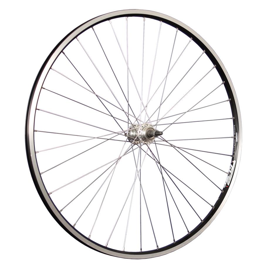Details Over Taylor Wheels Fietswiel 28 Inch Achterwiel Zac19voor Schroefkrans Zwartzilver