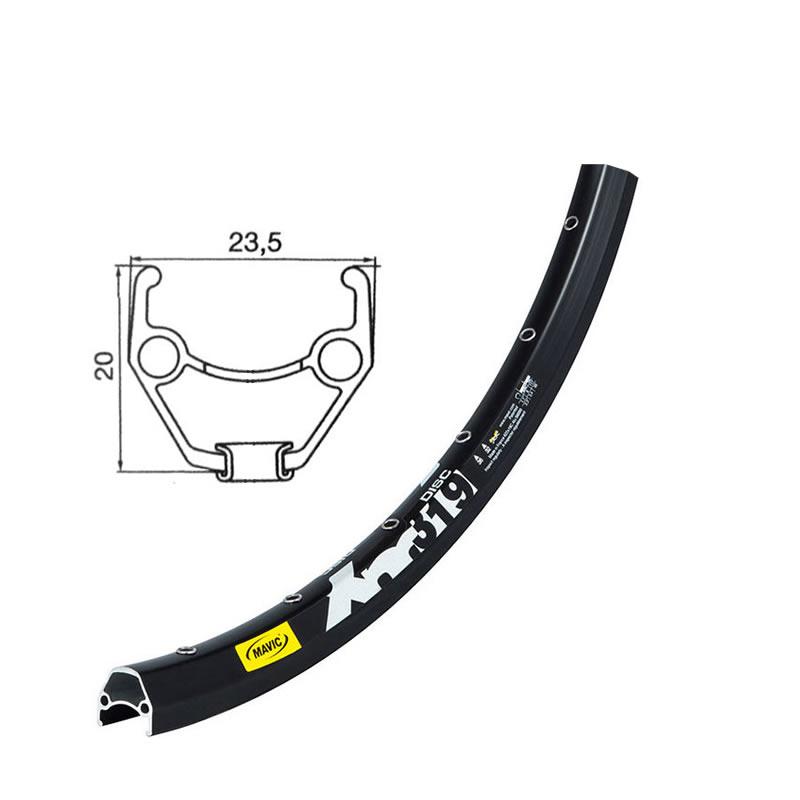 Laufrad 26 Zoll Hinterrad Mavic XM319 Disc CL Shimano Alfine 8 SG-S7001 schwarz