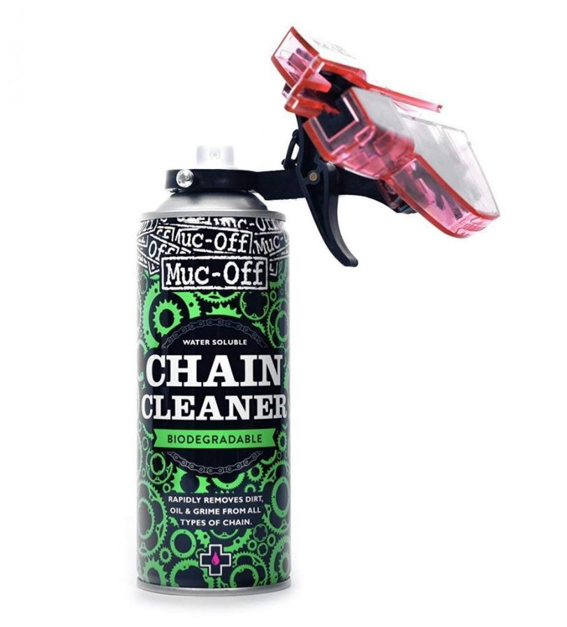 Muc-Off Kettenreiniger CHAIN DOC 400ml incl. chain cleaner Kettenpflegeset
