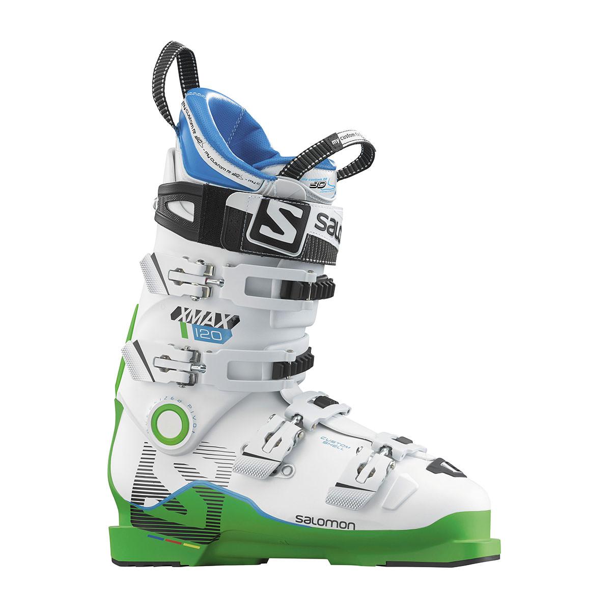 Salomon Herren Skischuhe Skistiefel X MAX 120 grünweiß