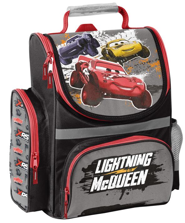 Klasse Ligthning McQueen Auto Disney Cars PL Schulranzen-Set 12tlg Ranzen 1