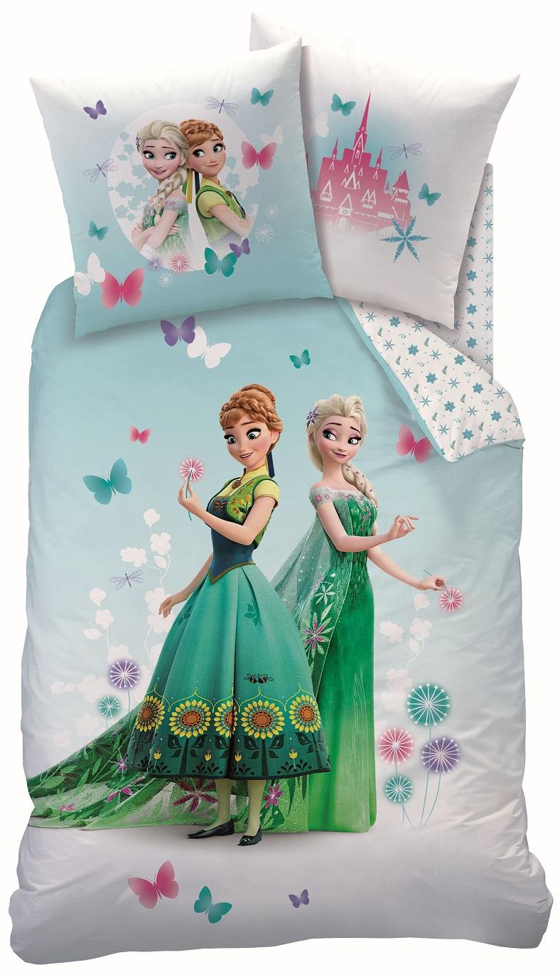 disney eisk nigin bettw sche set 135x200 80x80 frozen fraicheur linon ebay. Black Bedroom Furniture Sets. Home Design Ideas