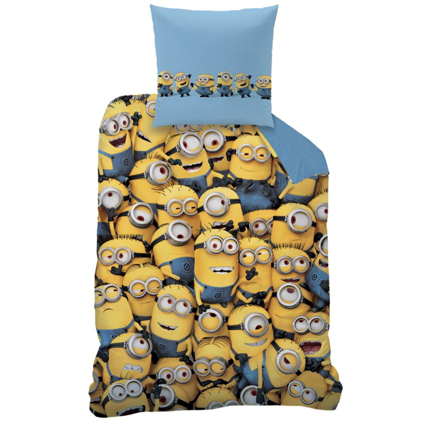 auswahl minions wende bettw sche set 135x200 in linon od biber flanell minion ebay. Black Bedroom Furniture Sets. Home Design Ideas