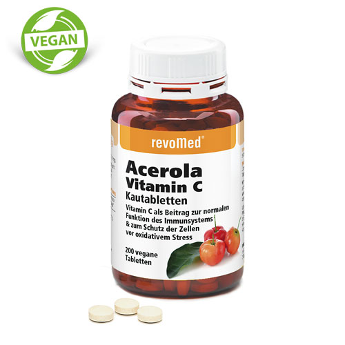 revomed - Acerola Vitamin C Tabletten (200 Tbl)