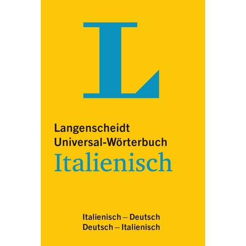 NEU: Langenscheidt Universal-Wörterbuch ITALIENISCH