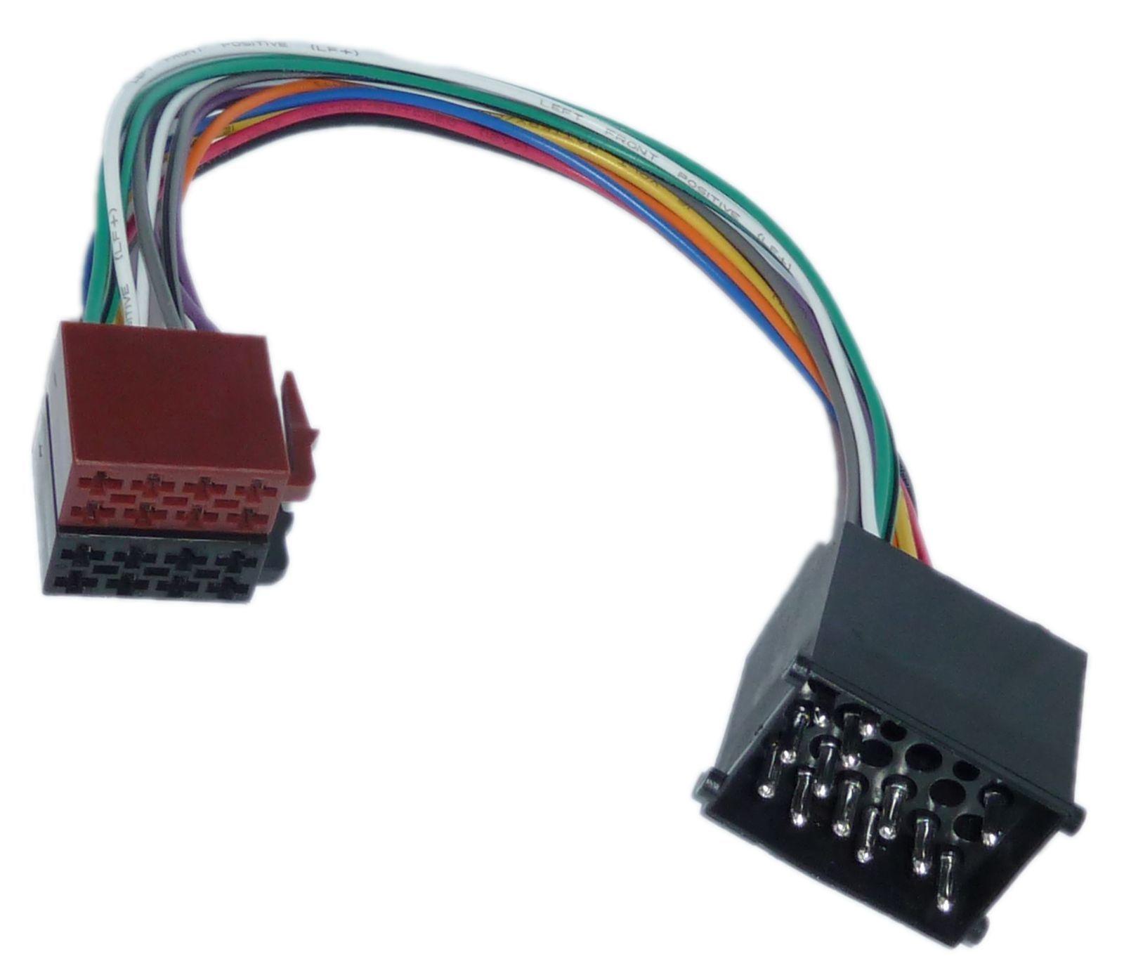 DIN ISO Auto Radio Adapter Kabel Stecker für BMW E30 E31 E32 E34 E36 ...
