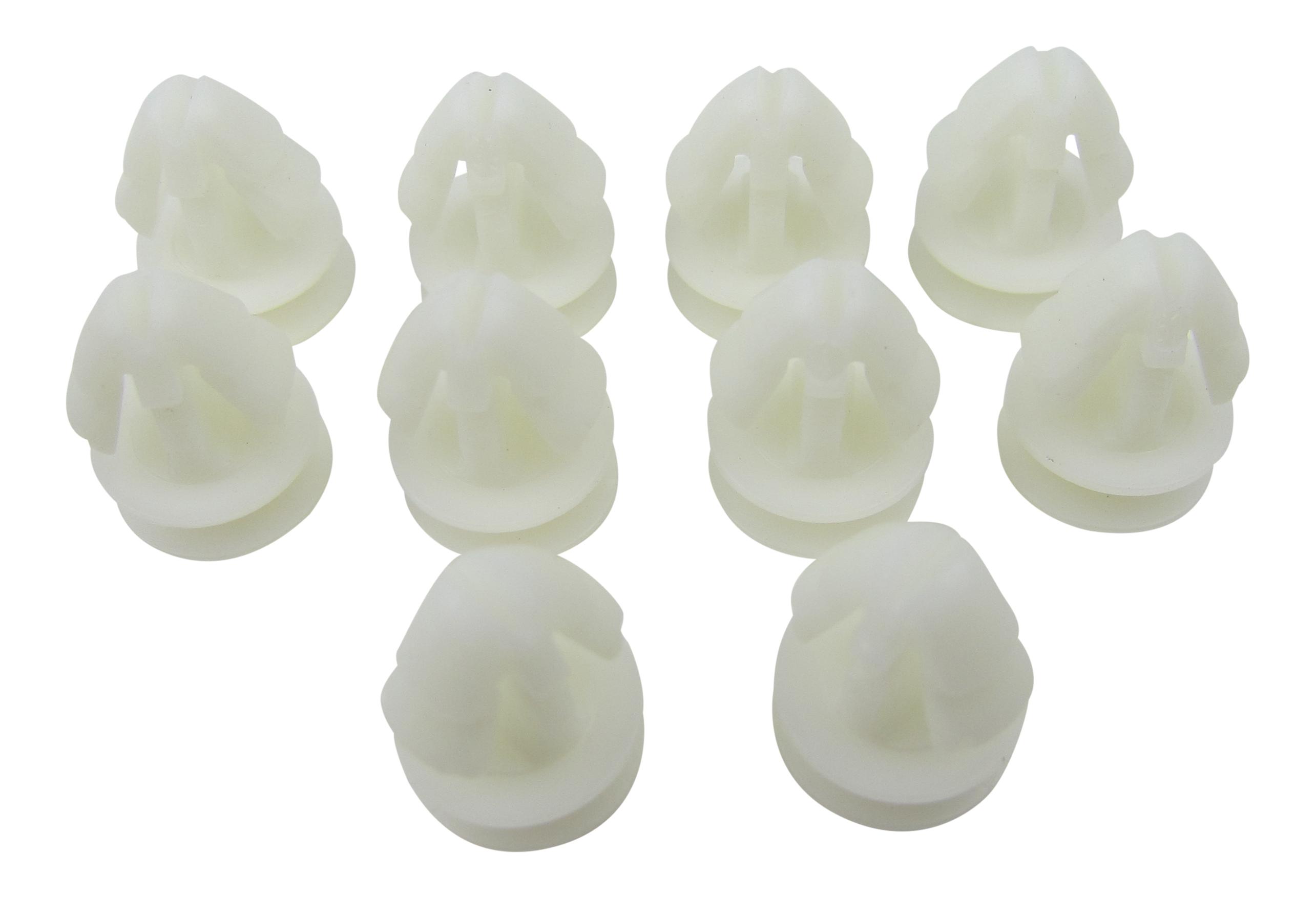 10 x Zierleisten Befestigungs Clip passend für VW 357853585 357853586 701853585