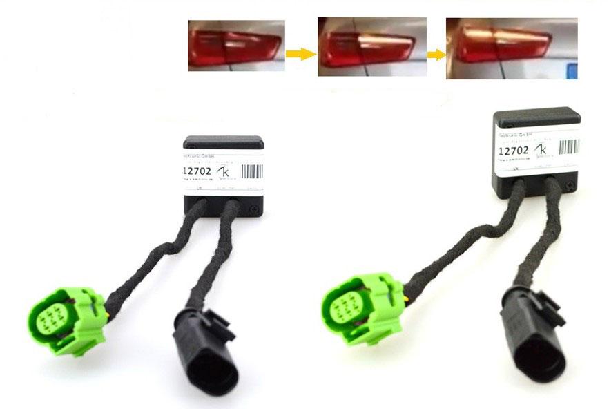 adapter modul semi dynamischer lauf blinker plug play f r. Black Bedroom Furniture Sets. Home Design Ideas