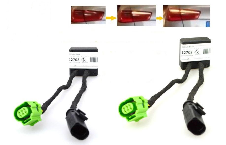 Adapter Module Semi Dynamic Run Indicator Plug -and-play for Audi A6 ...