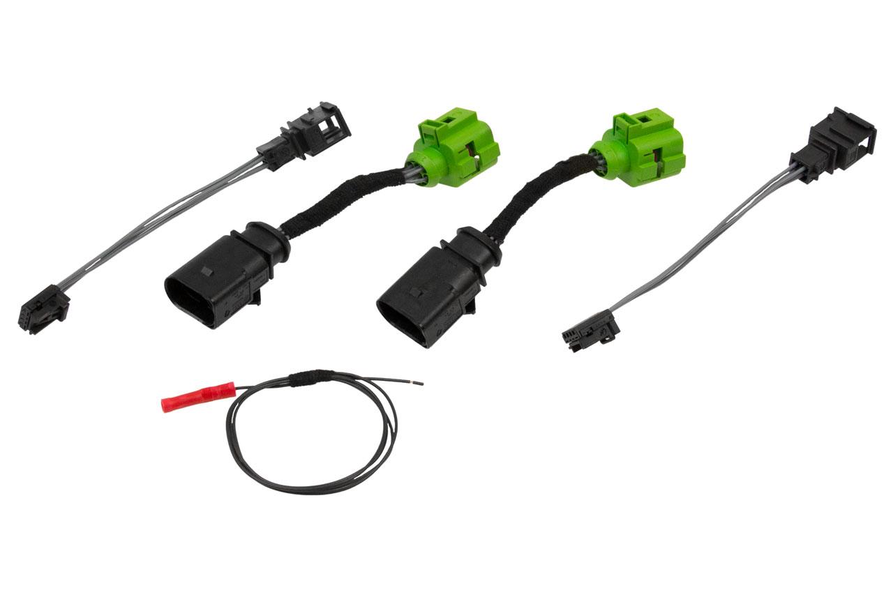 Für Audi A4 B8 Avant Rückleuchten Adapter Halogen auf LED Facelift Rückleuchten