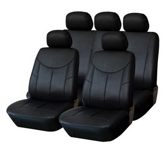 Autositzbezüge für Renault Captur ab 13 5-Sitze Schwarz Schonbezüge Sitzbezug