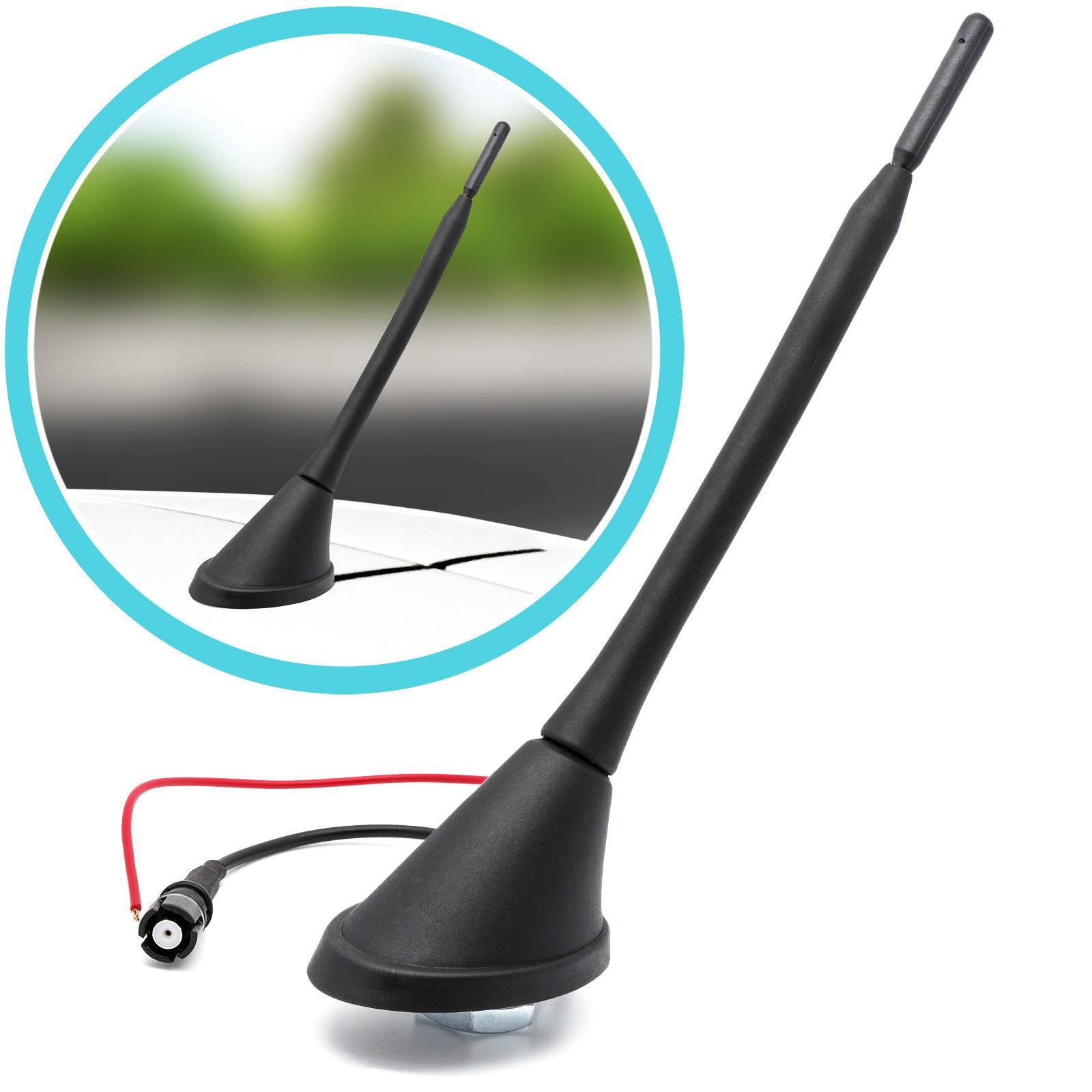 alimentation fant/ôme antenne pied Socle M5/pour Suzuki Noir/ /Voiture Toit Antenne radio Universe Tige antenne RAKU 2/II 40/cm avec amplificateur adaptateur