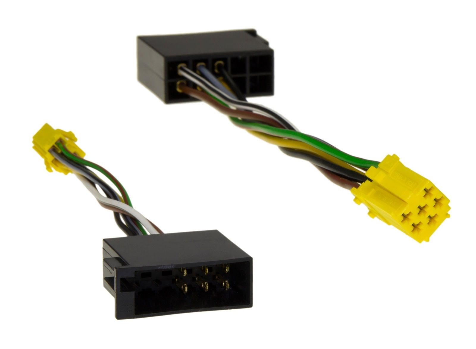 line out adapter kabel mini iso 6pol buchse auf iso 10pol. Black Bedroom Furniture Sets. Home Design Ideas