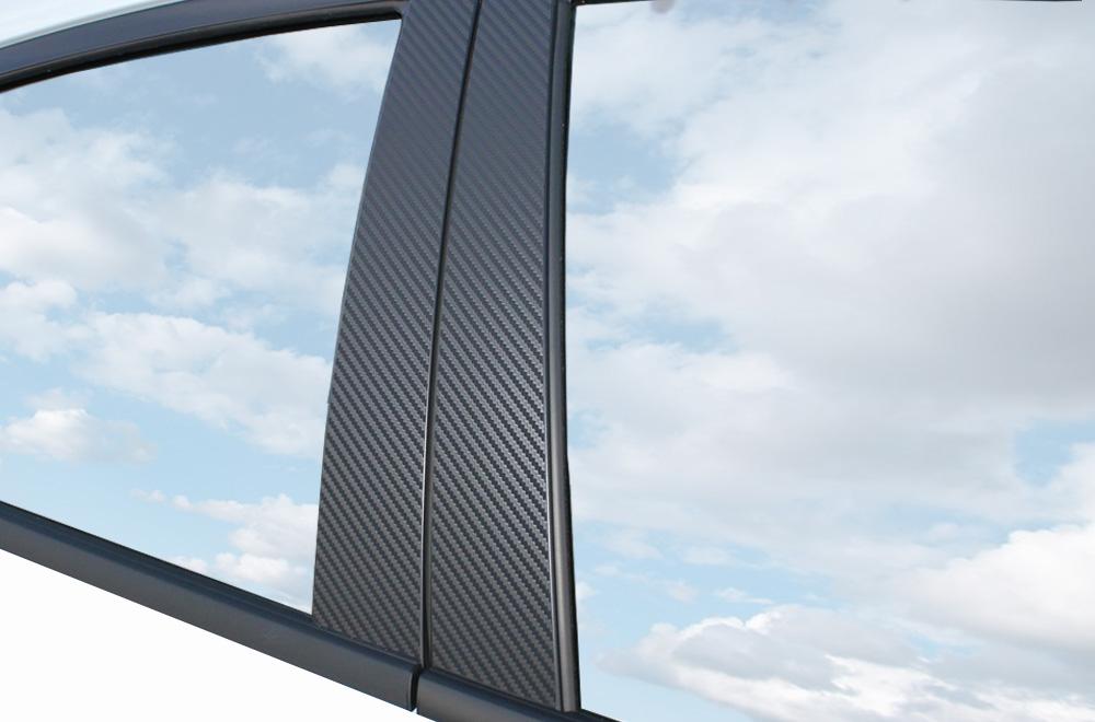6x premium a b c s ule t r leisten auto folie carbon. Black Bedroom Furniture Sets. Home Design Ideas