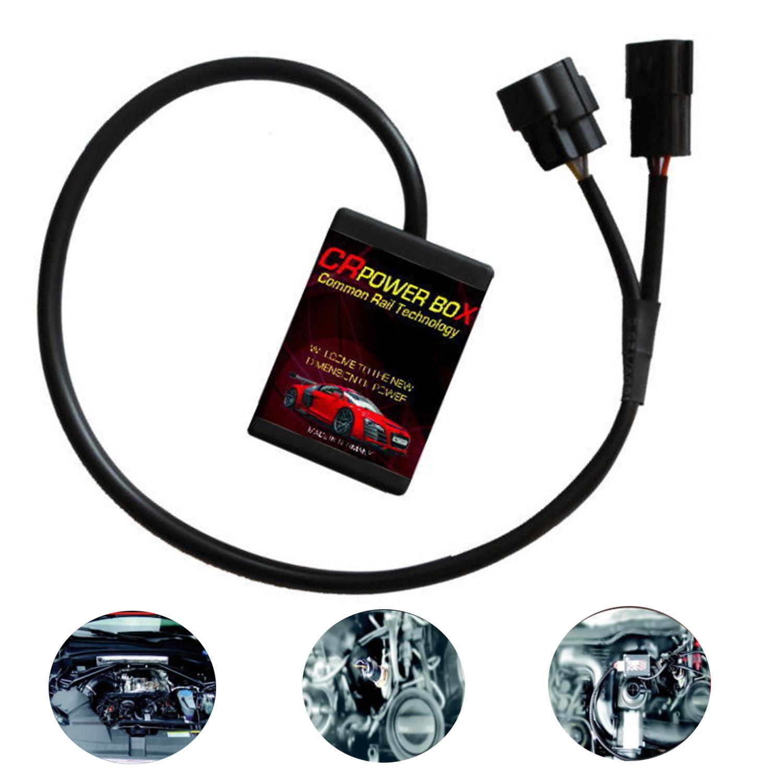 Chiptuning power box VOLKSWAGEN AMAROK 2.0 TDI CR 122 HP PS diesel tuning chip