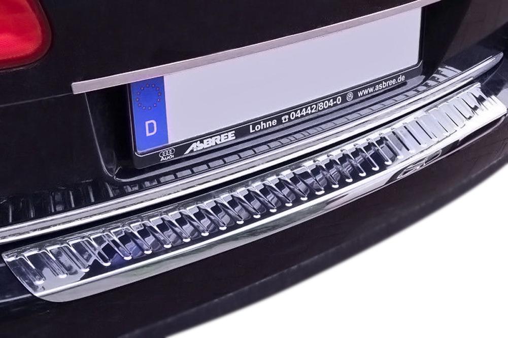 Premium Ladekantenschutz Abkantung Schutz Schwarz für VW Passat B6 3C Variant