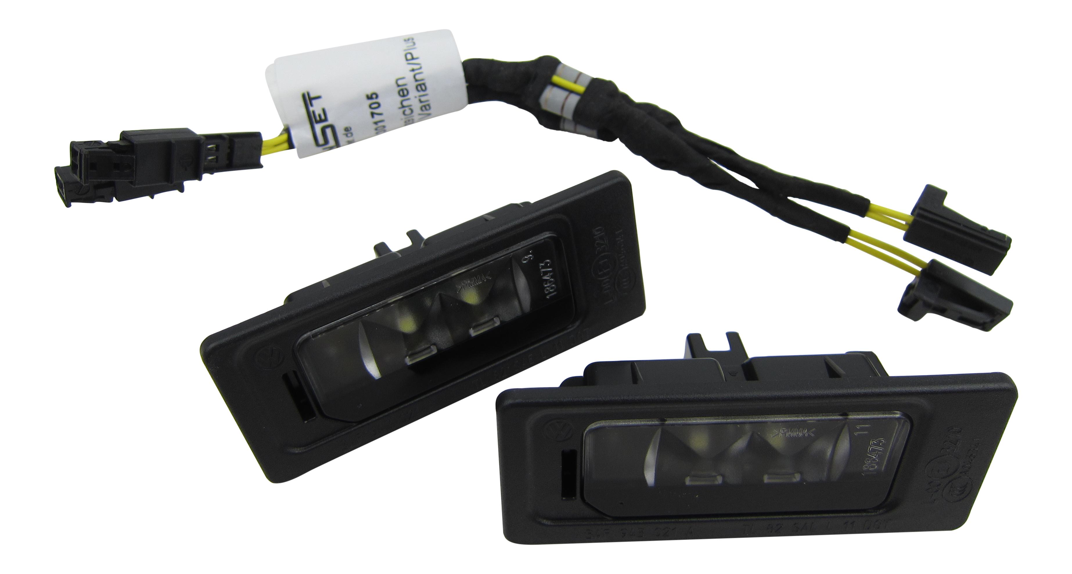 2x KENNZEICHENLEUCHTE SMD LED mit CANBUS